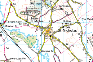 Map-of-Sutton-St-Nicholas