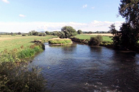River Lugg at Sutton St Nicholas