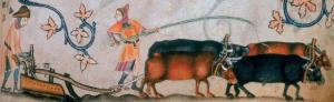luttrell psalter ploughing